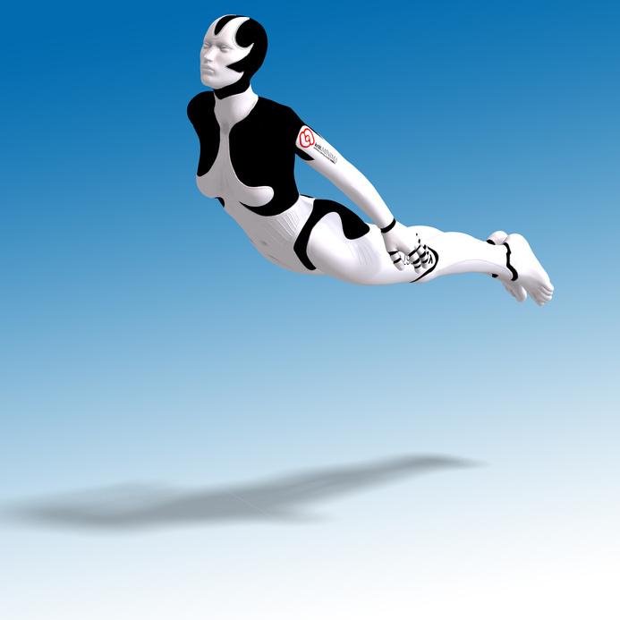 Danseden insansı robotların gösterisi