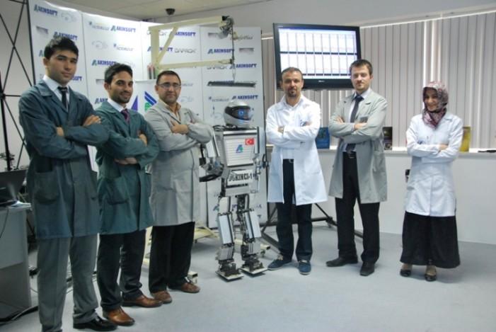 Akıncı 1 – Türk yapımı insansı robot