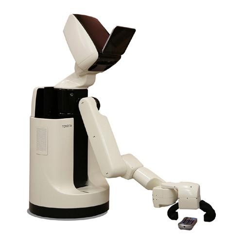 Toyota'nın ROS ile çalışan HSR robotu