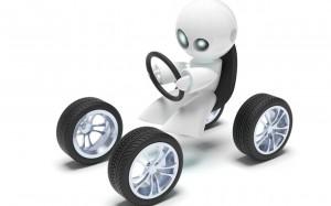 Robot araba