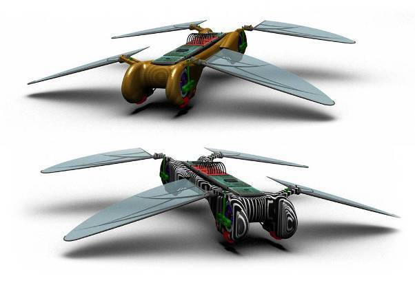 Uçan Böcek Robot