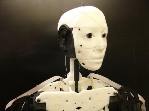 3 Boyutlu Yazıcıdan Çıkan Robot: InMoov