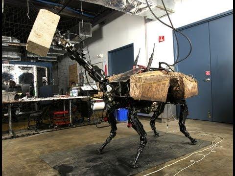Bigdog robotun yeni kolu