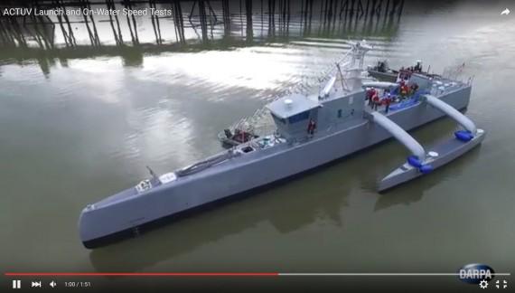 Robot savaş gemileri geliyor