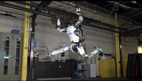 Atlas robot yine buyuledi